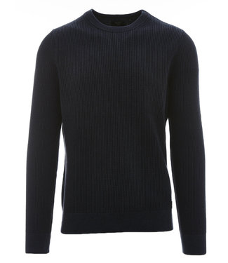 Superdry Academy dyed texture donkerblauw M6110037A