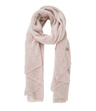 Zusss Warme brei sjaal roze