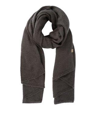 Zusss Warme brei sjaal grijs