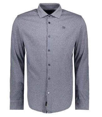 Vanguard Long Sleeve Shirt Jersey Mercerized Medieval Blue VSI206238