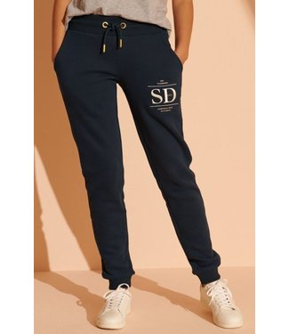 Superdry Established jogger donkerblauw W7010209A