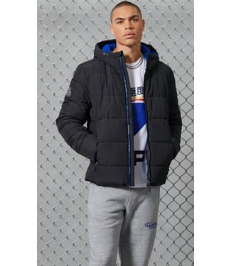 Superdry Sports puffer zwart M5010227A