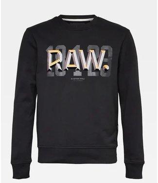 G-Star Raw dot sweater zwart D18196-A612-6484