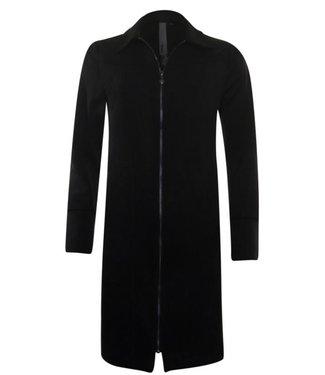 Poools Dress zip zwart 033195