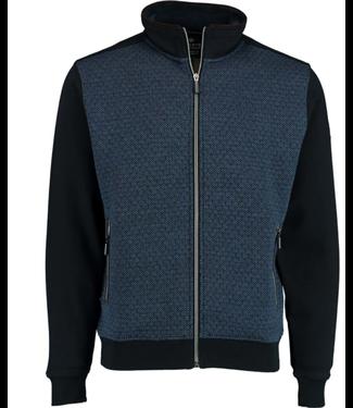 Baileys Sweat cardigan blauw 202212