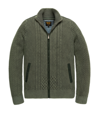PME Legend Zip jacket cotton cable stonewash Scarab PKC207350