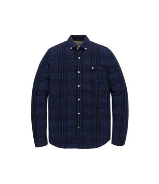 PME Legend Long Sleeve Shirt Pique Night Sky PSI206203