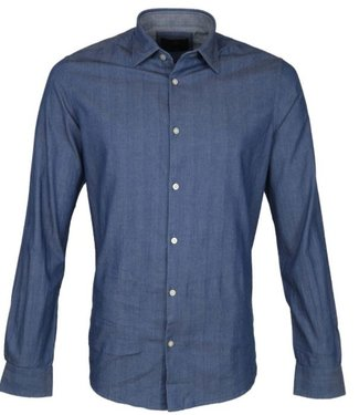 Vanguard Long Sleeve Shirt Light weight her Blue Indigo VSI207250