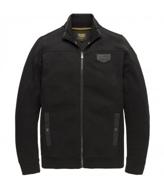 PME Legend Zip jacket structure sweat Meteorite PSW207422