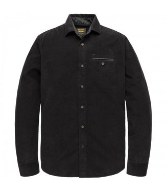 PME Legend Long Sleeve Shirt Clean Corduroy Meteorite PSI207213