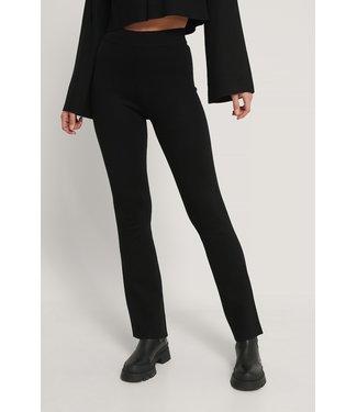 NA-KD Flared lounge pants zwart 1018-005408