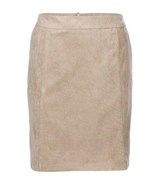 NA-KD A-line faux suede skirt zand 1018-004588