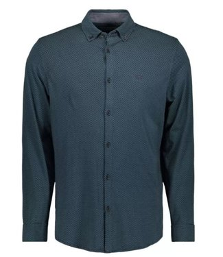 Vanguard Long Sleeve Shirt Print at single comfort blue VSI207259