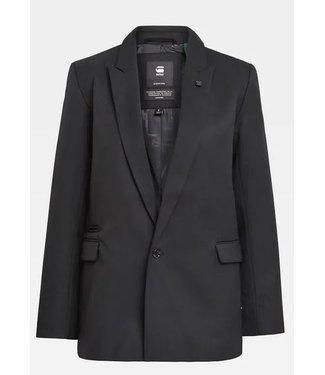 G-Star Classic boyfriend blazer zwart D18900-C523-6484