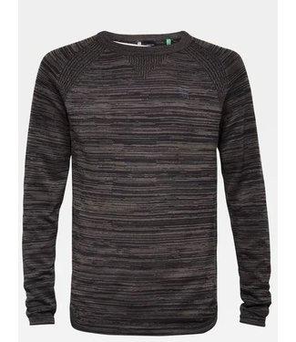 G-Star Core solli straight round sweater zwart D15948-B150-7242