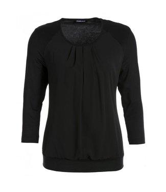 Frank Walder Shirt 3/4 Ärmel Black NOS707426