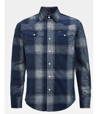 G-Star 3301 slim shirt blauw d18165-c549-c019