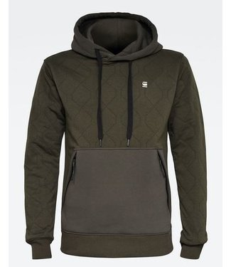 G-Star Utility quilted sweater donkergroen D18192-C547-995
