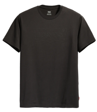 Levi's Housemark graphic tee zwart 22489-0283