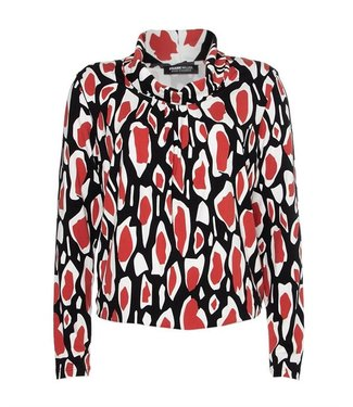Frank Walder Shirt 1/1 Ärmel orange Print W02622410
