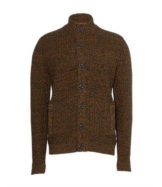 No Excess Cardigan Full Zip 3 Color Jaquard black 97230923