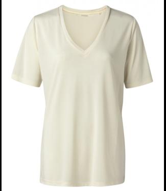 Yaya Modal V-neck T-shirt **00 1919121N