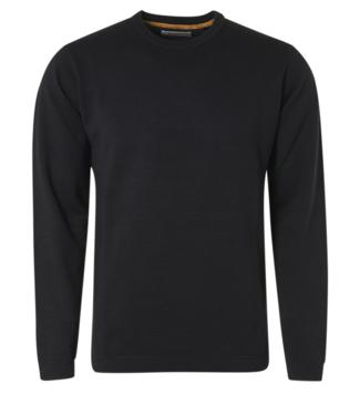 No Excess Pullover Crewneck Relief Garment Dye Navy 11230102