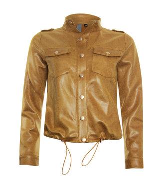 Poools Jacket goudgeel 113196