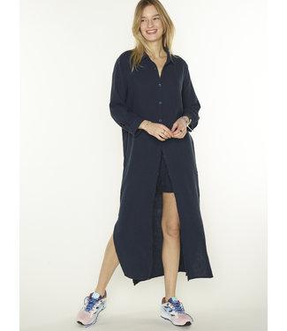 PENN&INK N.Y Long blouse donkerblauw S21T532