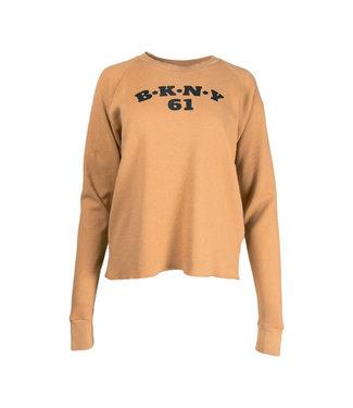 PENN&INK N.Y Sweater print bruin S21F895