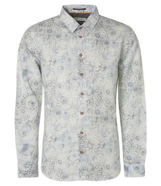 No Excess Shirt All Over Printed with Linen **00 11410222