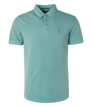 No Excess Polo Pique Stretch Stone Washed Org **08 11370101SN