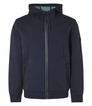 No Excess Sweater Hood Full Zipper Double Fab **01 11100101