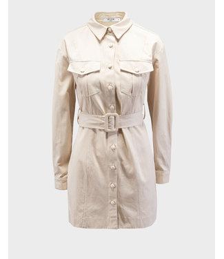 NA-KD Workwear dress zand 1018-006368