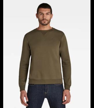 G-Star Premium core sweater groen D16917-C235-723