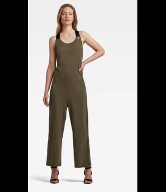 G-Star Dungaree jumpsuit groen D19334-B771-723