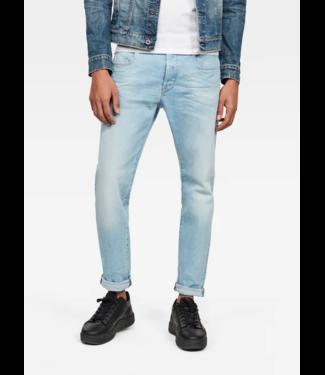 G-Star 3301 Slim jeans lichtblauw 51001-B631-B251