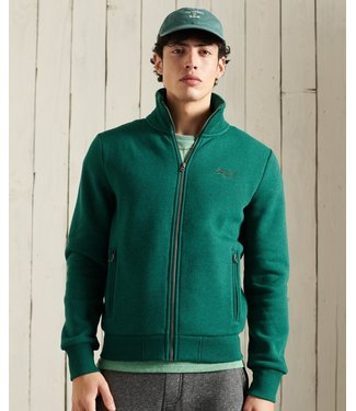 Superdry Ol classic track top groen M2011042A