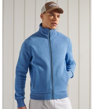 Superdry Ol classic track top blauw M2011042A