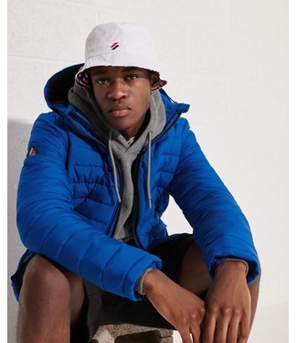 Superdry Hooded fuji jacket blauw M5010873A