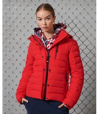 Superdry Classic fuji jacket rood W5010725A
