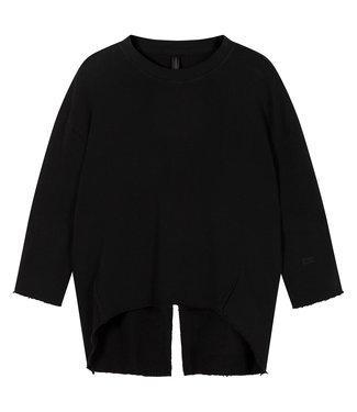 10Days Sweater split zwart 20-806-1201