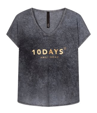 10Days Tee fade out grijs 20-751-1201