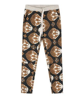10Days Cropped jogger ethnic grijs 20-011-1201