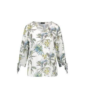 Taifun BLOUSE 3/4-SLEEVE OFFWHITE PATTERNED 760011-11019