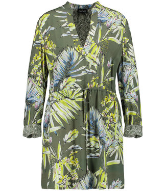 Taifun TUNIC / LONGBLOUSE BOTANICAL GREEN 760033-11046