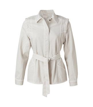 Yaya Colored denim jacket off white 151134-112