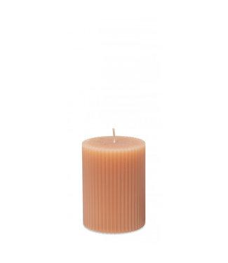 Yaya Small ribbed pillar candle **00 H400014