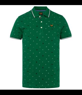 Short sleeve polo fine pique all o Verdant Green PPSS211854