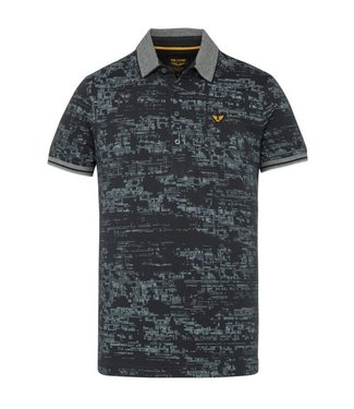 Short sleeve polo single jersey al Sky Captain PPSS211870
